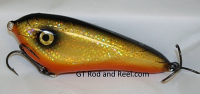 "Smuttly Dog Baits Lures 5"" Drop Belly, Color; Flashing Bronze Shiner"