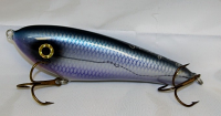 "Smuttly Dog Baits Lures 6"" Drop Belly, Color; Violet Blue Cisco"