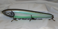 """Smuttly Dog Baits Lures 12"""" Big """"N""""  Musky Glide Bait  Color: Turquoise Cisco"""