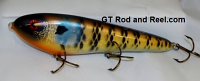 """Smuttly Dog Baits Lures 8"""" Drop Belly 8DB Musky Glide Bait  Color: Blue Gill"""