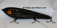 """Smuttly Dog Baits Lures 8"""" Drop Belly 8DB Musky Glide Bait  Color: Midnight Stardust"""
