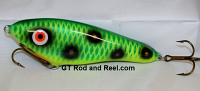 "Smuttly Dog Baits Lures 6"" Drop Belly, Color; Green Frog"