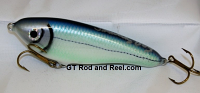 "Smuttly Dog Baits Lures 6"" Drop Belly, Color; Turquoise Cisco"