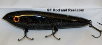 """Smuttly Dog Baits Lures 7"""" Minnow, Color; Midnight Stardust"""