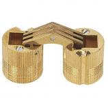 SOSS® BH124 12mm Barrel Hinge, Solid Brass