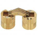 SOSS® BH184 18mm Barrel Hinge, Solid Brass