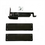 Bommer 7813 HD 601 Double Acting Floor Hinge Heavy Duty Up To 150 LBS USL1 Flat Black
