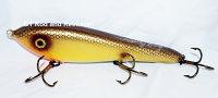 "Smuttly Dog Baits Lures 8"" Drop Belly 8DB Musky Glide Bait  Color: Yellow Bullhead"