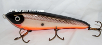 """Smuttly Dog Baits Lures 8"""" Drop Belly 8DB Musky Glide Bait  Color: Tennessee Shad"""