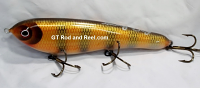 "Smuttly Dog Baits Lures 8"" Drop Belly 8DB Musky Glide Bait  Color: Red Horse"