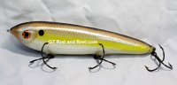 """Smuttly Dog Baits Lures 7"""" Minnow, Color; Violet Drum"""