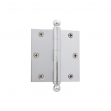 Hager Wide Throw Ball Bearing Hinges 3.5x5 us15 Satin Nickel with Ball Tips