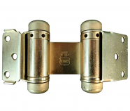 Bommer 1515 Light Duty Double Acting Spring Hinge 633 us4 Satin Brass