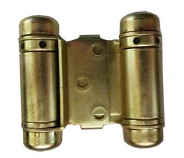 Bommer 1515H Light Duty Double Acting Spring Hinge with Hold Open 632 us3 Polished Brass