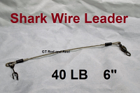 40 LB EZ Clip Shark Wire Leader 7x7 49 Strand Nylon Coated Wire-6