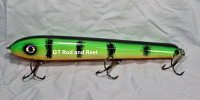 "Pearson Plug 10"" Wide Glide Color Green Glow Perch"
