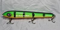 """Pearson Plug 10"""" Wide Glide Color Green Glow Perch"""