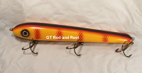 """Pearson Plug 10"""" Wide Glide Color Orange Bar Perch"""