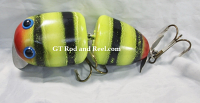 "Nimmer Swimmer 5"" Wolly Pog Red Nose Bumble Bee"