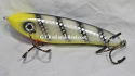 "Hughes River Musky 6"" Shaker Bait Color; Yellow Hawg Buster"