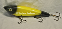"Hughes River Musky 8"" Shaker Bait Color; Yellow Bandit"
