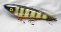 "Hughes River Musky 8"" Shaker Bait Color; Okoboji Perch"