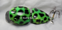 "Nimmer Swimmer 5"" Wolly Pog Lime Frog"