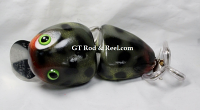 "Nimmer Swimmer 5"" Wolly Pog G I Joe (Army Green) Frog"