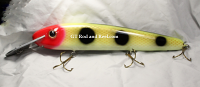 Pearson Plugs Lucky 13 Reef Buster, Strong Aluminum Lip Jacks Clown