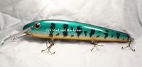 Pearson Plugs Lucky 13 Deep Troller Lexan Lip Emerald Smallie