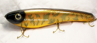"Pearson Plug 12"" Trophy Hunter Color, Hot Muskie"