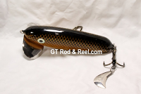 "JC Walker 5.5"" Butter Scotch Shad   with Hatchet Trailer"