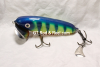 "JC Walker 5.5"" Blue Perch  with Hatchet Trailer"