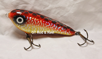 "Smuttly Dog Baits Lures 5"" Drop Belly, Color;  Bloody Mary"