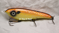 "Smuttly Dog Baits Lures 7"" Drop Belly, Color; Orange Crush"