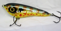 """Smuttly Dog Baits Lures 5"""" Drop Belly, Color;  Pumpkin-seed"""