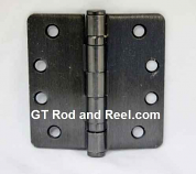 "Hager RCBB1279 Hinge 1 Each 4"" x 4"" 1/4"" Radius Ball Bearing Hinges US10b Oil Rubbed Bronze"