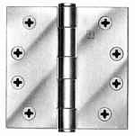 "Hager Hinge 1279 4-1/2"" x 4-1/2'"" Square Corner Hinges Satin Bronze US10"