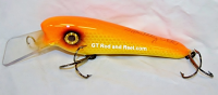 "Smuttly Dog Baits 6"" Troller/Crankbait Color Goldfish Sucker"