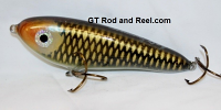 """Smuttly Dog Baits Lures 6"""" Drop Belly, Color; Grass Carp"""