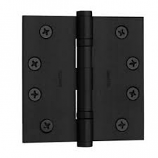 "Baldwin Hinges 1046 Ball Bearing 4.5"" x 4.5"" Satin Black"