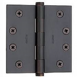 "Baldwin Hinges 1041 Ball Bearing 4"" x 4"" Venetian Bronze"