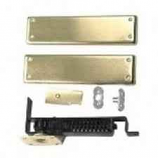 Bommer 7813 HD 633 Double Acting Floor Hinge Heavy Duty Up To 150 LBS US4 Satin Brass Brass