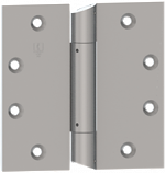 "IHTAB750 Three Knuckle us26d Satin Chrome - Institutional Prison Hinge Detention Hardware 5"" x 4-1/2"""