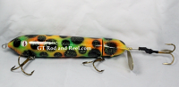 "Musky Safari Short Bus Tapper 7"" Fire Leopard"