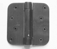 "Hager Hinges 1752 5/8"" Radius US15A Antique Nickel 4"" x 4"" 426r r7189 Self Closing Hinge"