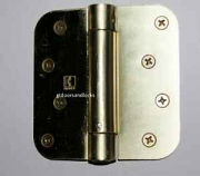 "Hager Hinges 1752 5/8"" Radius US4 Satin Brass 4"" x 4"" 426r r7189 Self Closing Hinge"