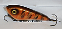 """Smuttly Dog Baits Lures 5"""" Drop Belly, Color; Red Horse"""