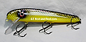 "Jack Cobb 7"" Slim Jim Crank Bait Color Purple Passion"
