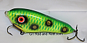 """Smuttly Dog Baits Lures 5"""" Drop Belly, Color; Green Frog"""